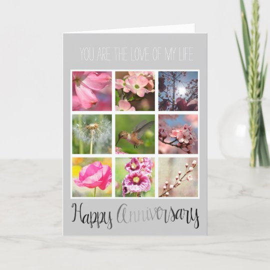 create your own photo collage anniversary card - Make Your Own Anniversary Card