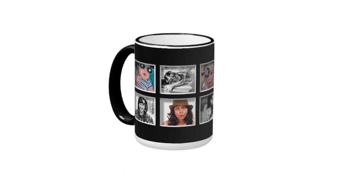 Create Your Own Photo Collage Coffee Mug Zazzle