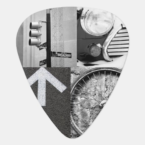 Create_Your_Own Photo Collage Guitar Pick