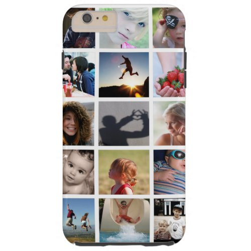 Create-Your-Own Photo Collage iPhone 6 Plus Case Phone Case