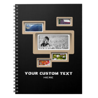 Create-Your-Own Photo Collage Notebook
