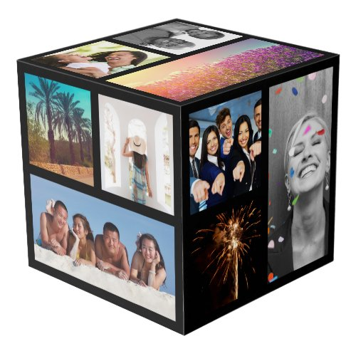 Create_Your_Own Photo Collage Photo Cube
