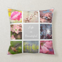 Create Your Own Photo Collage Pillows