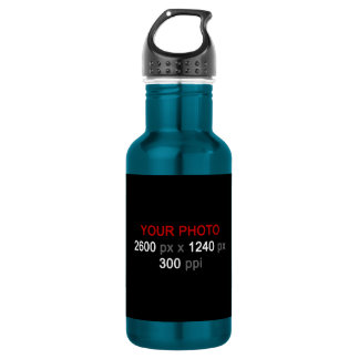 Create Your Own Photo Custom 18oz Water Bottle