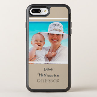 Create Your Own Photo for Mom or Dad OtterBox Symmetry iPhone 7 Plus Case