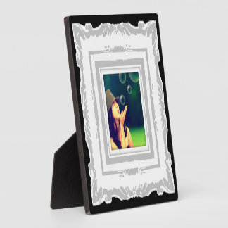 Create-Your-Own Photo Frame Plaque