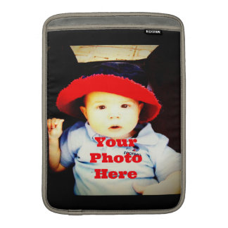 Create Your Own Photo Gifts Template Sleeve For MacBook Air