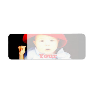 Create Your Own Photo Gifts Template Return Address Label