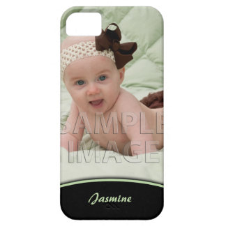 Create Your Own Photo Green Edge iPhone5 iPhone SE/5/5s Case