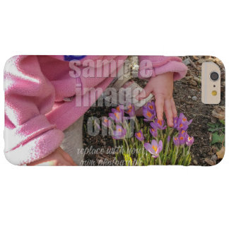 Create Your Own Photo - Horizontal Barely There iPhone 6 Plus Case