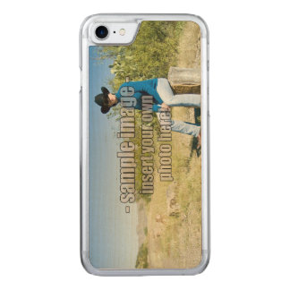 Create Your Own Photo - Horizontal Carved iPhone 7 Case