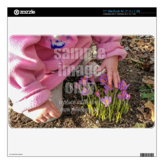 Create Your Own Photo - Horizontal Decal For The MacBook Air