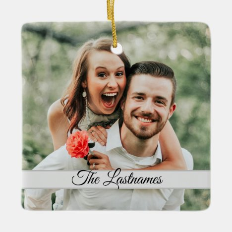 Create Your Own Photo Image Ceramic Ornament