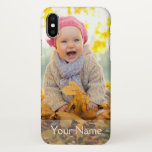 "CREATE YOUR OWN PHOTO iPhone X CASE<br><div class=""desc"">Create your own photo case with custom name and family photo. The create your own photo case makes the perfect gift for mom or dad.</div>"