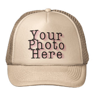 CREATE YOUR OWN PHOTO MESH HAT