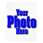 CREATE YOUR OWN PHOTO PERSONALIZED LETTERHEAD