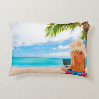 Create Your Own Photo Pillow at Zazzle