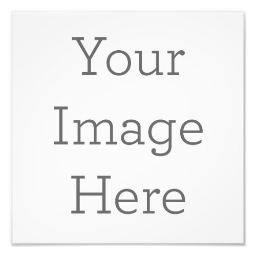 Create Your Own Photo Print