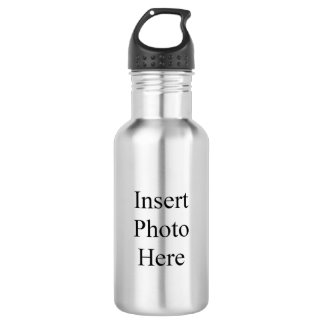 Create Your Own Photo Stainless Steel Water Bottle