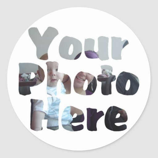 CREATE YOUR OWN PHOTO STICKERS