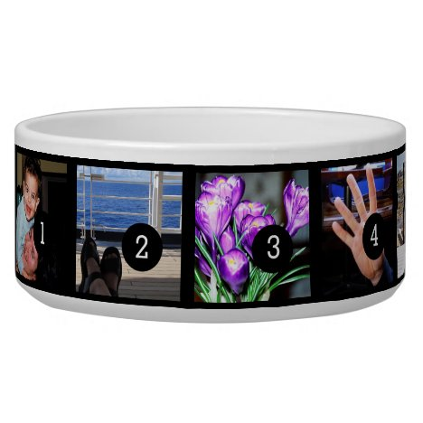Create Your Own Photo Style 5 images Bowl