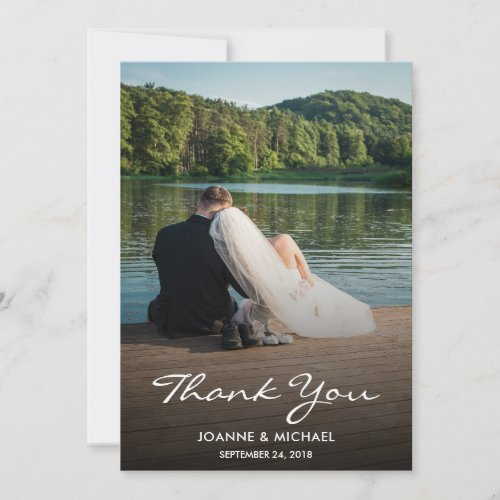 Create your own photo Thank you Wedding