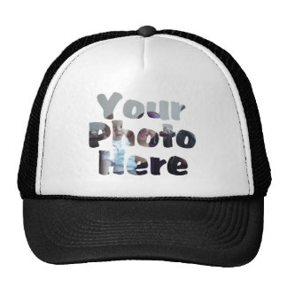 CREATE YOUR OWN PHOTO TRUCKER HATS