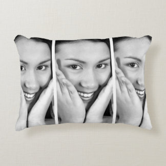 Create-Your-Own Photo Upload Accent Pillow