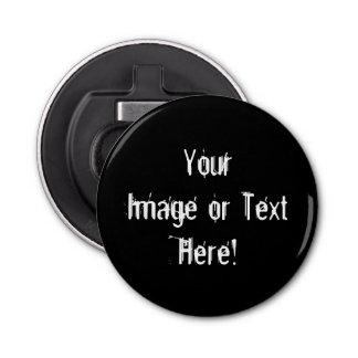 Create-Your-Own Photo Upload Bottle Opener Button Bottle Opener