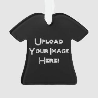 Create-Your-Own Photo Upload Ceramic Ornament