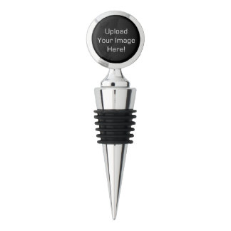 Create-Your-Own Photo Upload Wine Bottle Stopper