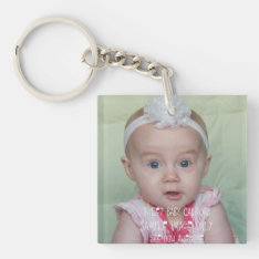 Create Your Own Photograph Or Artwork Keychain at Zazzle