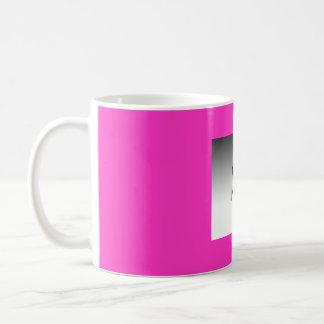create your own pink coffee mug