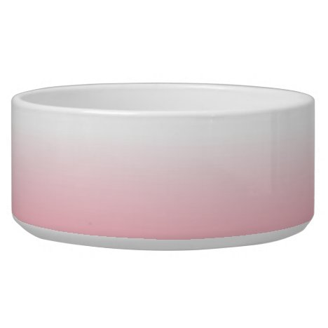 Create Your Own Pink Ombre Bowl