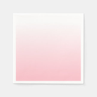 Create Your Own Pink Ombre Napkin