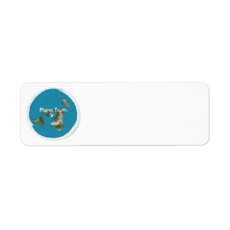 Create Your Own Plane Truth Return Address Labels