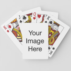 Create Your Own Playing Cards at Zazzle