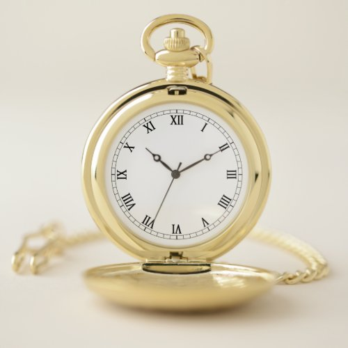 Create Your Own Pocket Watch Template, Add Image