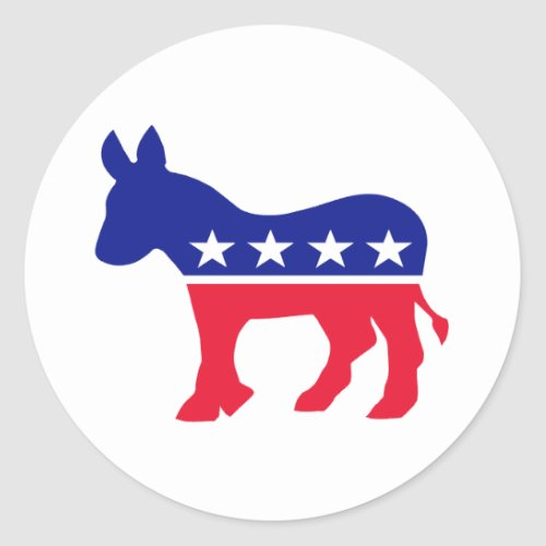 Create your own Political Classic Round Sticker