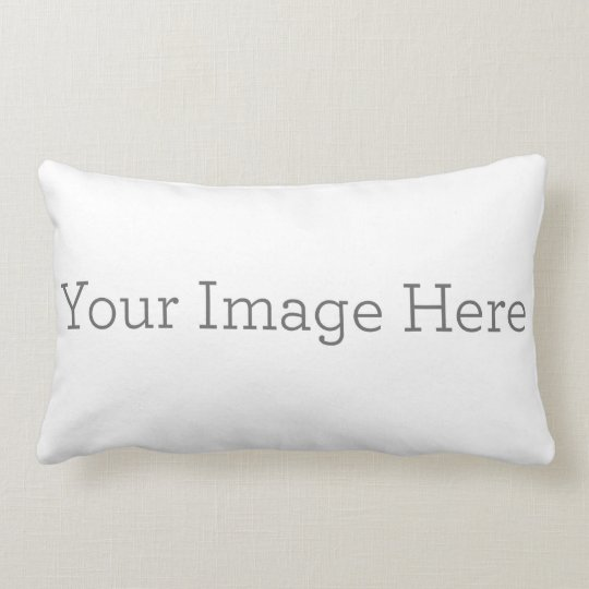 Create Your Own Polyester Lumbar Pillow 13 Quot X 21 Quot Zazzle Com