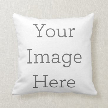 zazzle_templates Create Your Own Polyester Throw Pillow 16x16