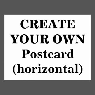 Create Your Own Postcard (horizontal)