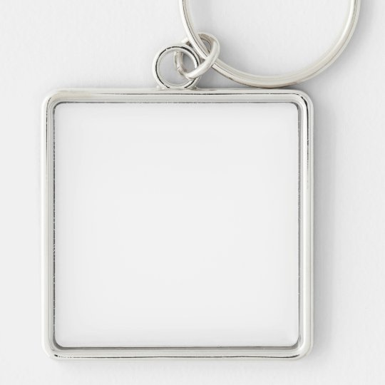 Create Your Own Premium Large Square Keychain