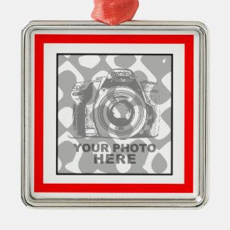 Create Your Own Premium Square Ornament