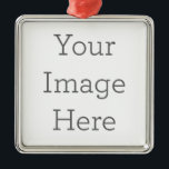 "Create Your Own Premium Square Ornaments<br><div class=""desc"">Design some cool custom square ornaments with Zazzle"