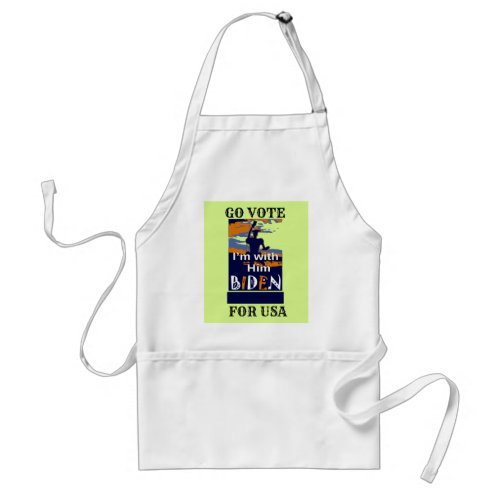 Create Your Own Presidential Election Campaign Adult Apron