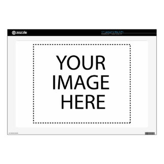 """Create your own product or gift :-) decal for 17"""" laptop"""