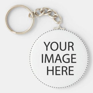 Create your own product template basic round button keychain
