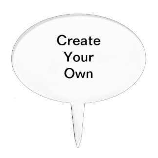 Create Your Own Products Cake Picks