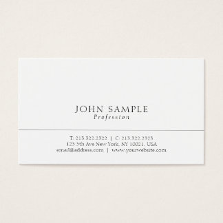 Create Your Own Professional Modern Elegant Simple Business Card